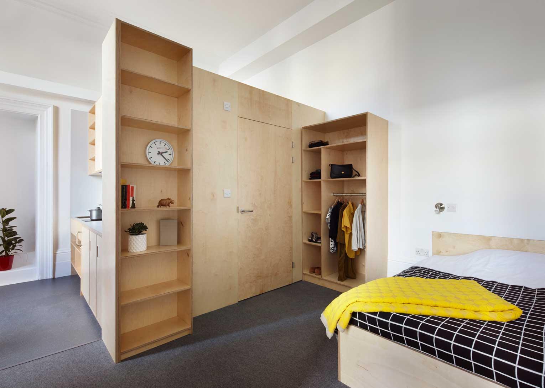 student furniture at Golsmirths designed and installed by i-Design